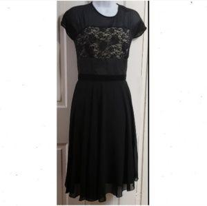 Dresses & Skirts - 🆕 Beautiful Black Lace Detail Cocktail Dress